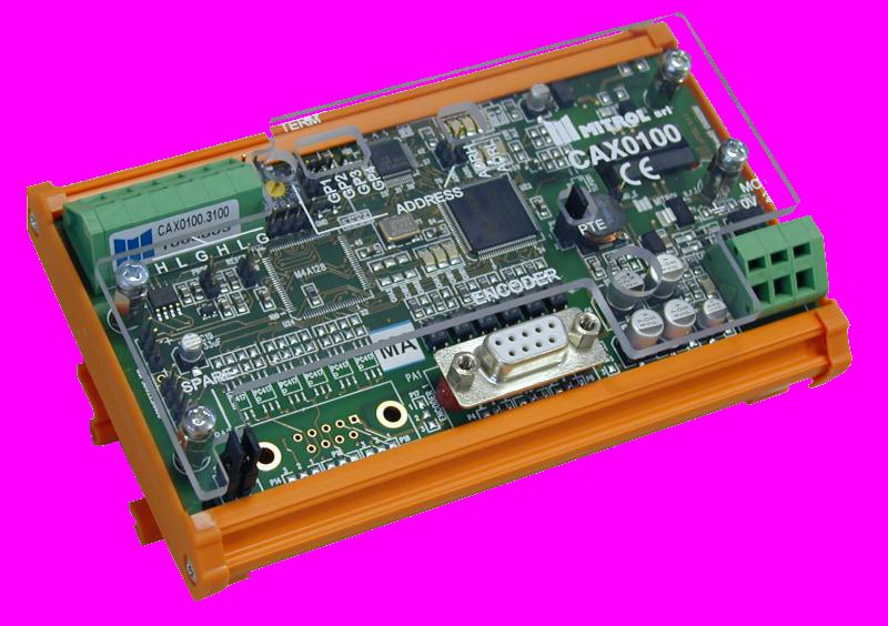Schema Collegamento Encoder Incrementale : Modulo cax mitrol